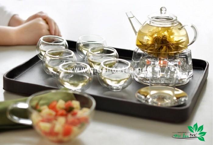 Trà hoa nghệ thuật/Blooming Tea - Mộc Hoa Trà7