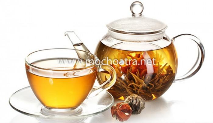 Trà hoa nghệ thuật/Blooming Tea - Mộc Hoa Trà5