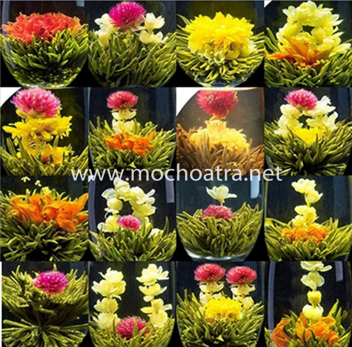 Trà hoa nghệ thuật/Blooming Tea - Mộc Hoa Trà9