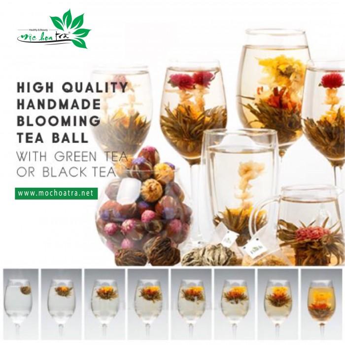 Trà hoa nghệ thuật/Blooming Tea - Mộc Hoa Trà10