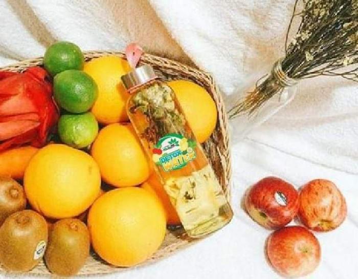 Detox Hoa quả Thanh lọc cơ thể - Mộc Hoa Trà3