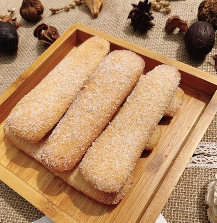 Hủ 500gr Bánh sam banh (Sampa, Ladyfinger) thơm ngon - Food by Mama0