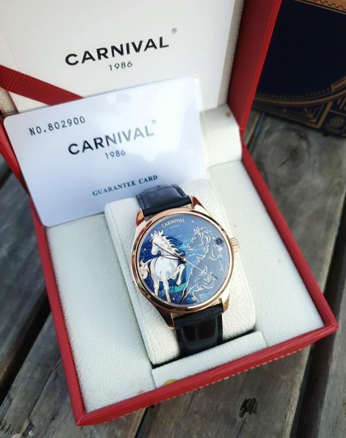 Đồng hồ nam Carnival G51502 Song Mã Diam1