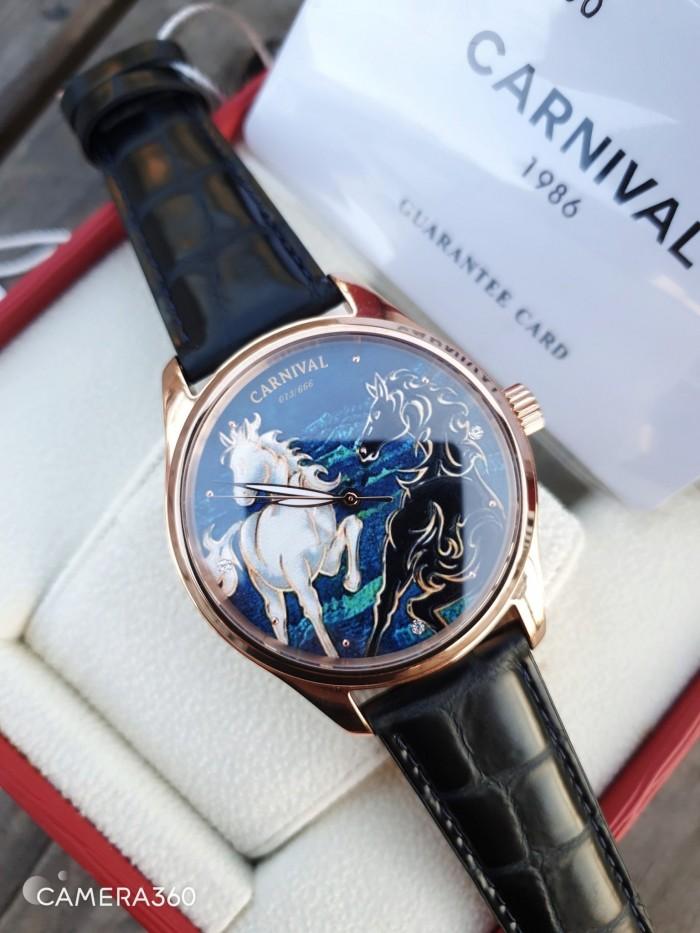 Đồng hồ nam Carnival G51502 Song Mã Diam0