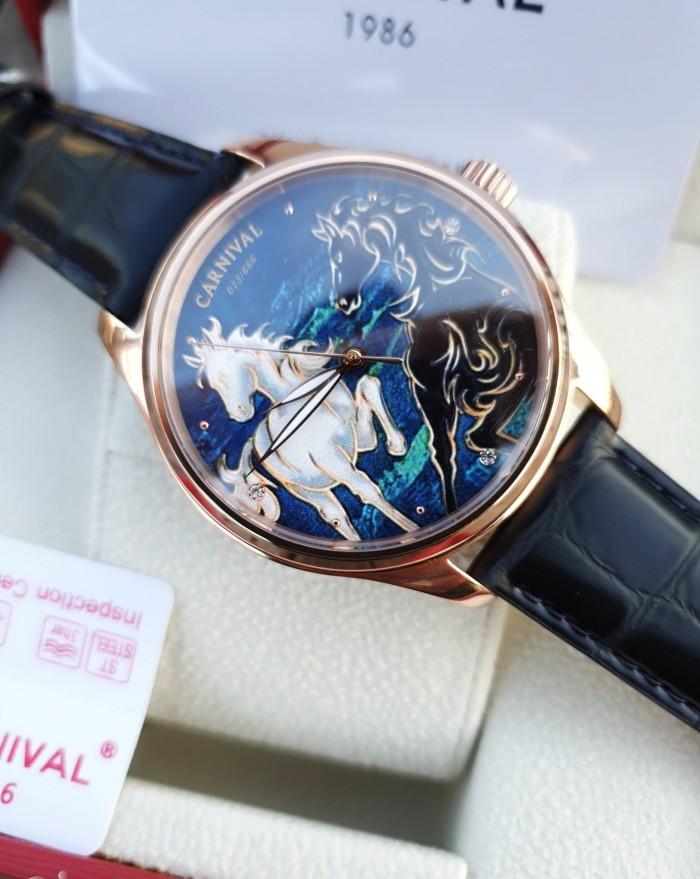 Đồng hồ nam Carnival G51502 Song Mã Diam2
