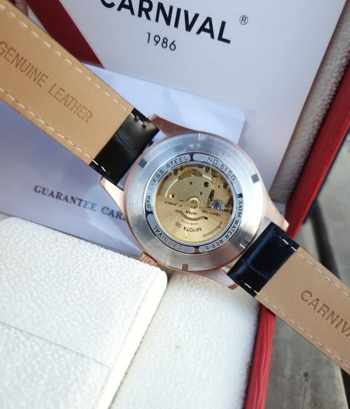 Đồng hồ nam Carnival G51502 Song Mã Diam4
