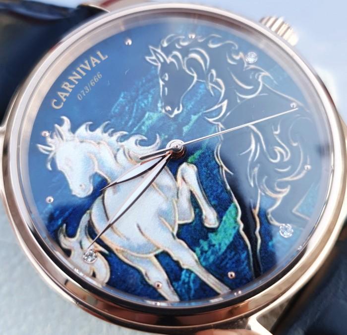 Đồng hồ nam Carnival G51502 Song Mã Diam3
