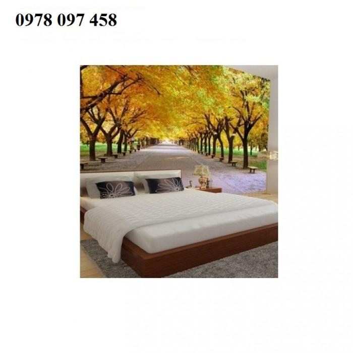 Nghệ thuật trang trí phòng ngủ- tranh gạch3