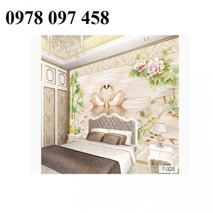 Nghệ thuật trang trí phòng ngủ- tranh gạch0