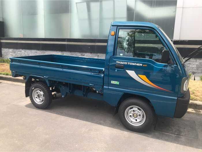 Tây ninh, bán xe tải Trả góp Towner800 mới thùng lửng,tải 990kg, đời 20203