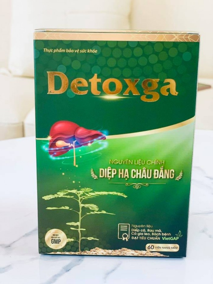 Detoxga - Thanh nhiệt, giải độc, hỗ trợ tăng cường chức năng gan2