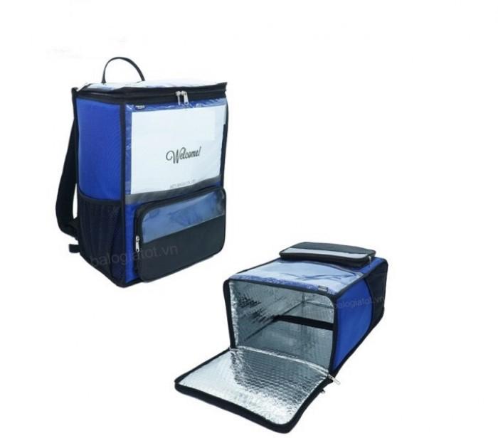 Túi giao hàng, túi giao hàng giữ nhiệt in logo1