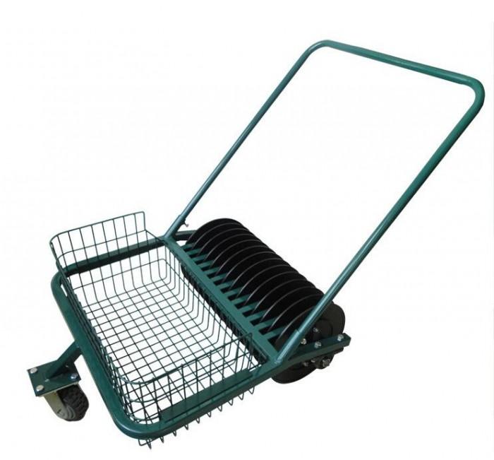 Xe nhặt bóng golf ( xe nhặt banh golf ) đẩy tay công suất nhặt 600 quả bóng g0