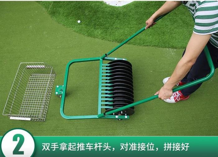 Xe nhặt bóng golf ( xe nhặt banh golf ) đẩy tay công suất nhặt 600 quả bóng g8