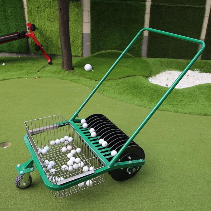 Xe nhặt bóng golf ( xe nhặt banh golf ) đẩy tay công suất nhặt 600 quả bóng g12