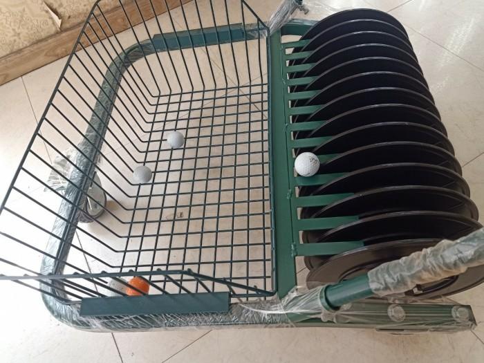 Xe nhặt bóng golf ( xe nhặt banh golf ) đẩy tay công suất nhặt 600 quả bóng g14