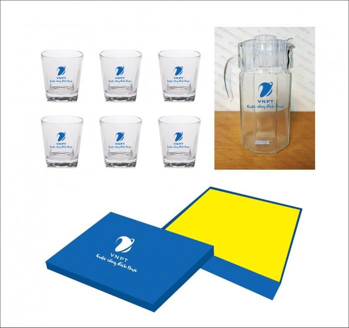 In logo lên ly thủy tinh chất lượng giá rẻ tại xưởng1