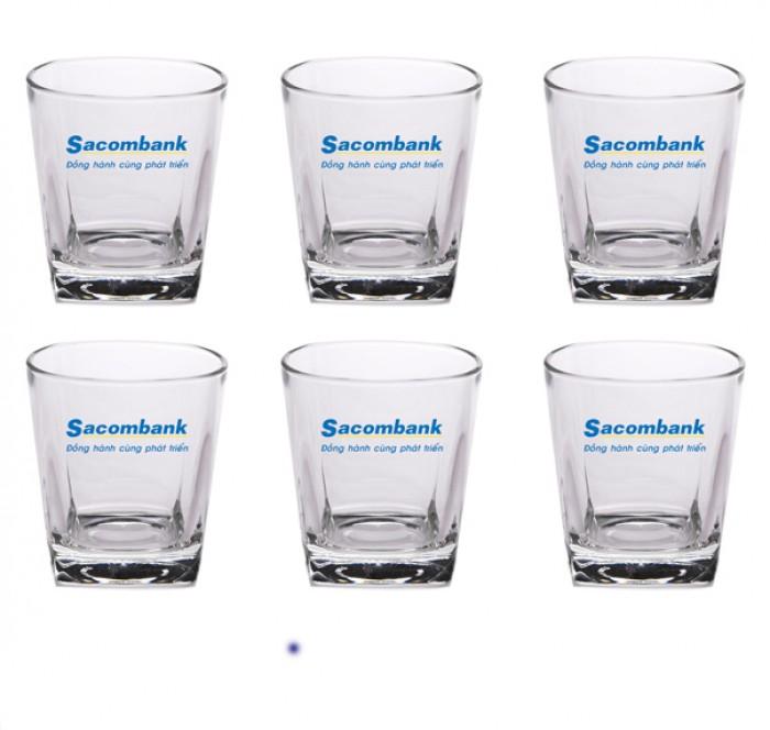 In logo lên ly thủy tinh chất lượng giá rẻ tại xưởng2