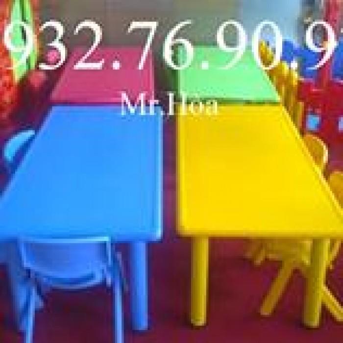 Bàn ghế mầm non, bàn ghế giá rẻ