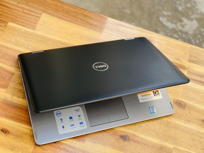 Laptop Dell N7568, i7 6500U 8G SSD256 4K Đèn Phím Touch Lật Xoay 36a0
