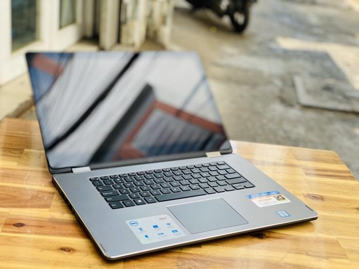 Laptop Dell N7568, i7 6500U 8G SSD256 4K Đèn Phím Touch Lật Xoay 36a2