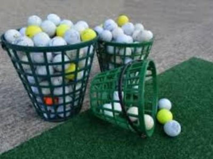 Giỏ đựng bóng golf bằng nhựa cao cấp.1