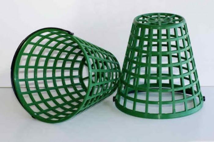 Giỏ đựng bóng golf bằng nhựa cao cấp.2