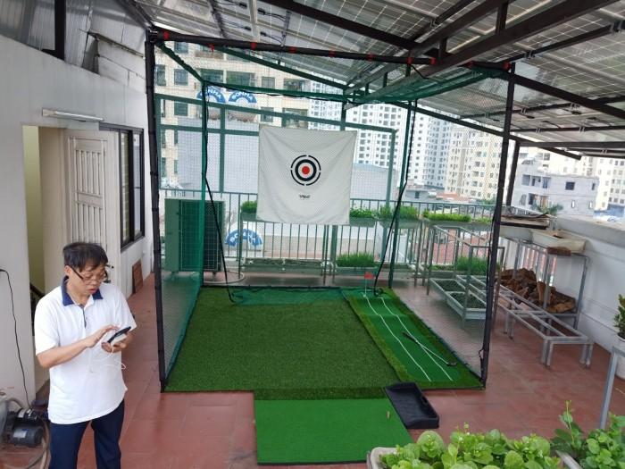 Khung lều golf2