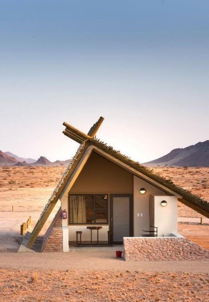 Những mẫu nhà bungalow, homestay bằng tre4