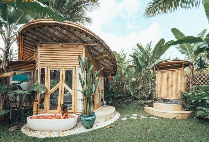 Những mẫu nhà bungalow, homestay bằng tre10