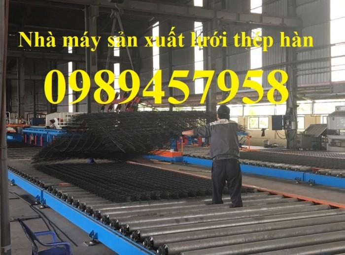 Lưới thép công trình phi 4 a 100x100, 150x150, 200x200, Lưới phi 5 a 200x200, Phi 6 a 150x1501