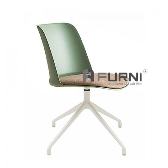 Ghế phòng họp hiện đại thân xoay có nệm TOBE 5-F1 phù hợp làm ghế nhân viên, ghế văn phòng hiện đại, ghế tiếp khách, ghế đào tạo, ghế phòng thư viện.0