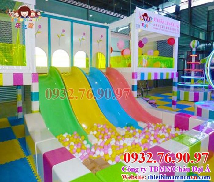 Thiết kế thi công khu vui chơi