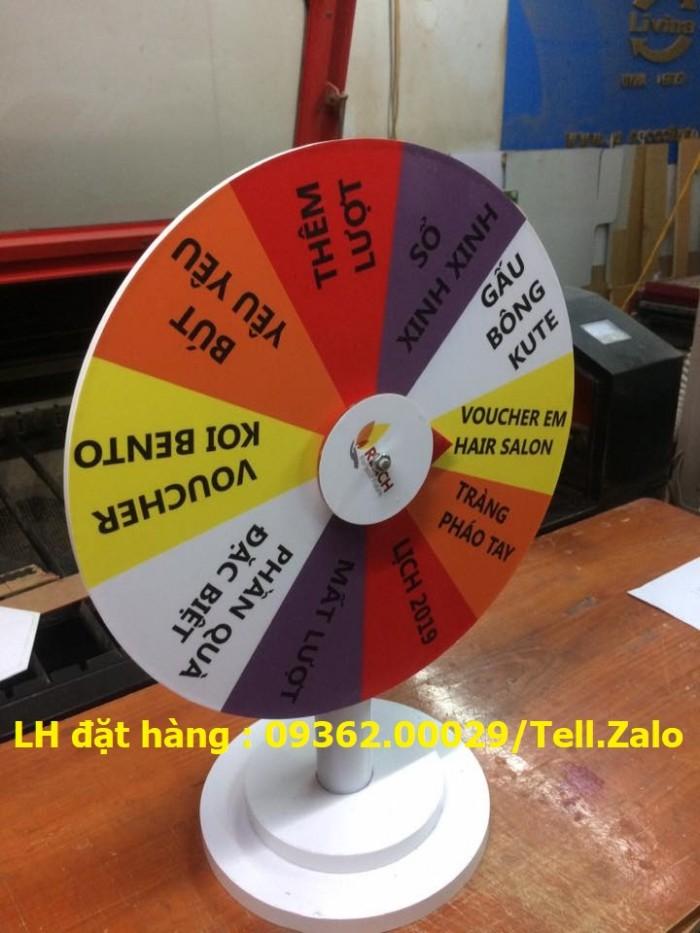 Sản xuất vòng quay may mắn, vòng quay trúng thưởng- Gia công theo yêu cầu0