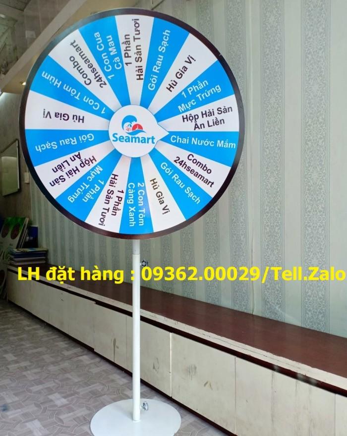 Sản xuất vòng quay may mắn, vòng quay trúng thưởng- Gia công theo yêu cầu10