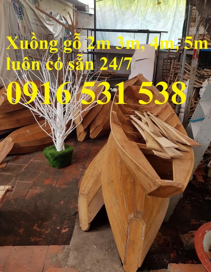 Đóng Xuồng gỗ, xuồng gỗ ba lá, xuồng gỗ 3m, 4m, 5m2