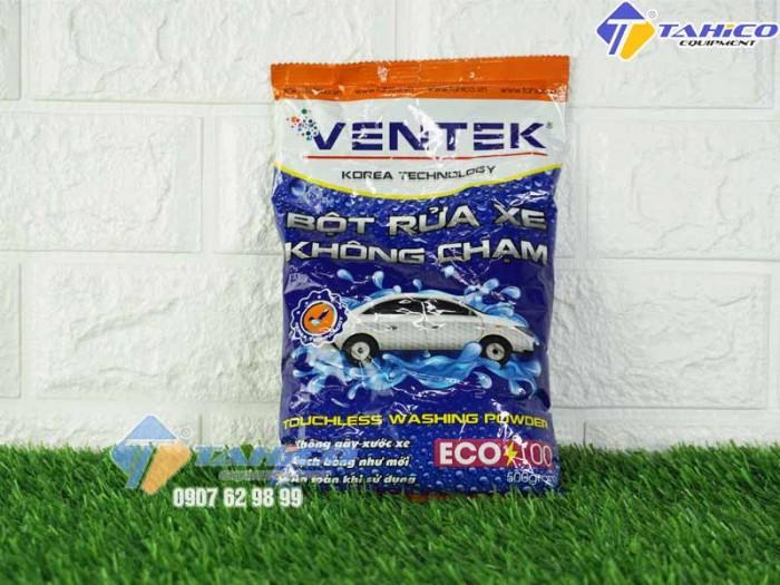 Bột rửa xe bọt tuyết không chạm Ventek Eco100 tại Nha Trang2