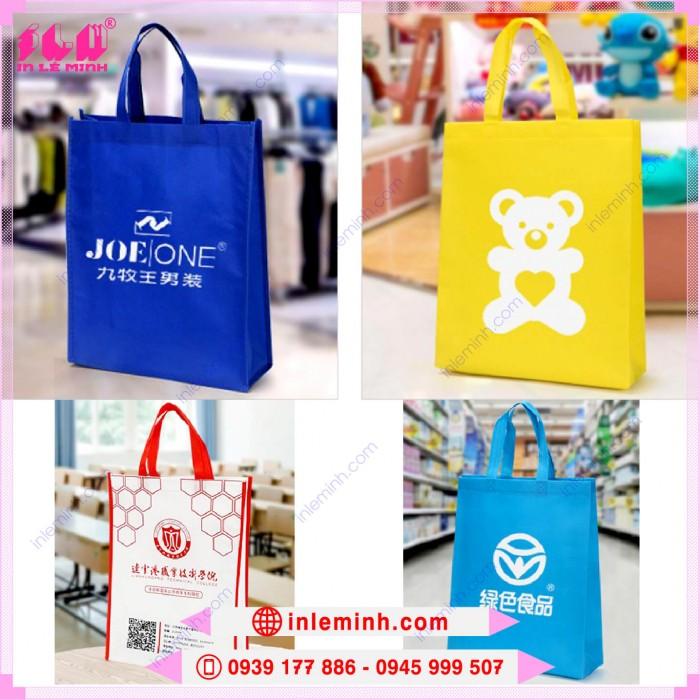 Túi vải không dệt làm quà tặng, quảng cáo, sự kiện, shopping, hội thảo, đại hội,...9