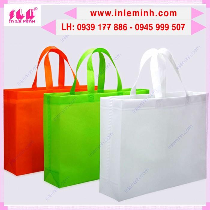Túi vải không dệt dùng làm túi đựng cơm văn phòng14