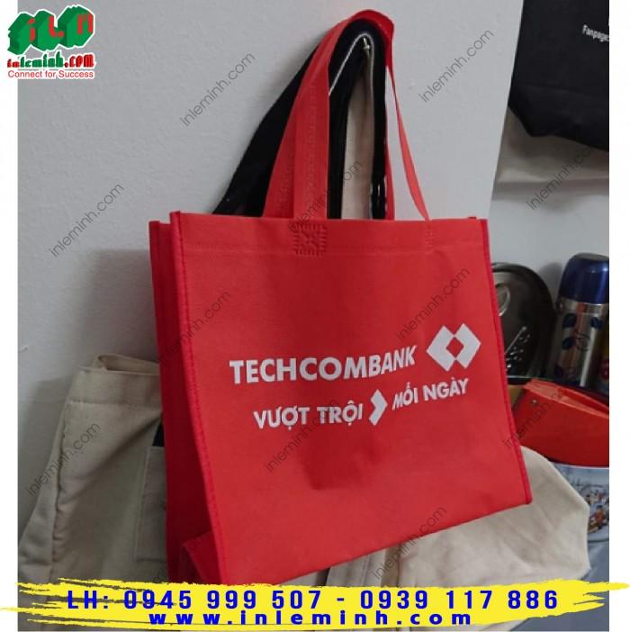 Túi vải không dệt techcombank8