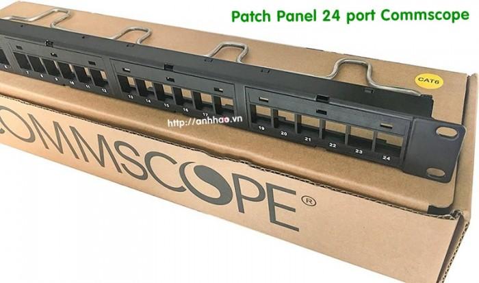 Thanh đấu nối mạng patch panel Commscope 24 port cat6 giá tốt2