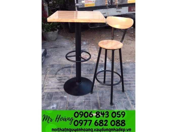 Ghế gỗ bar giá tại xưởng2