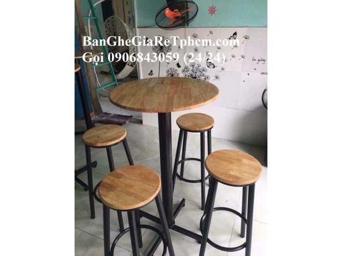 Ghế gỗ bar giá tại xưởng3