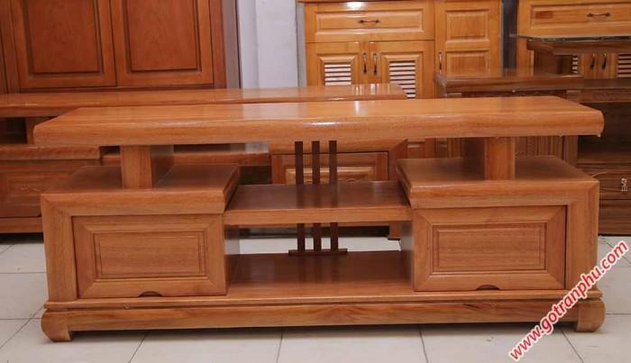 Kệ tivi gỗ đinh hương kiểu Nhật 1m4 – 1m6 – 1m80