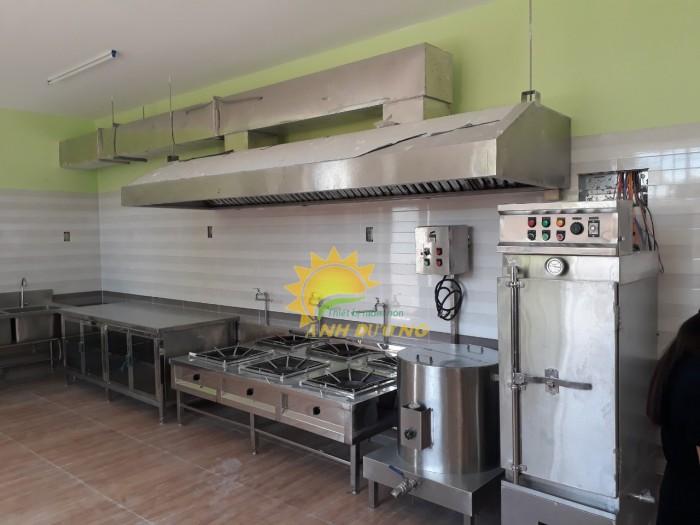 Nơi cung cấp , tư vấn, lắp đặt hệ thống nhà bếp cho các trường mầm non uy tín11