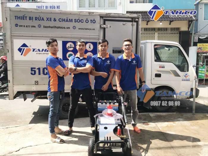 Máy rửa xe cao áp 7,5kw Kokoro T3600M tại Bảo Lộc5