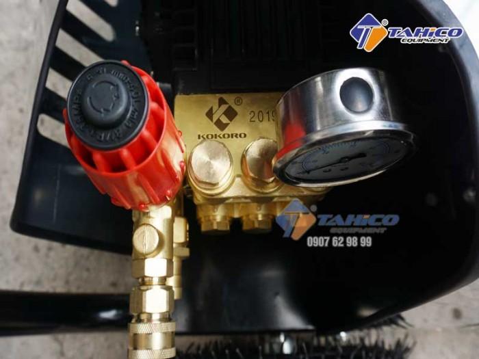 Máy rửa xe cao áp 7,5kw Kokoro T3600M tại Bảo Lộc6