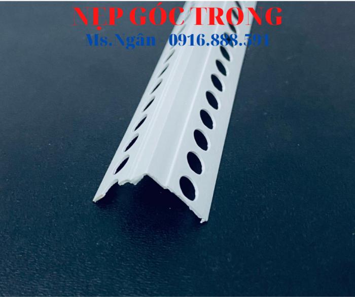 Nẹp nhựa hoàn thiện góc trong - Nẹp V góc âm - Nẹp nhựa5