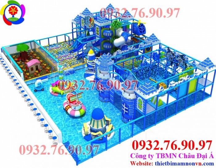 Thiết kế, thi công khu vui chơi tại TP HCM