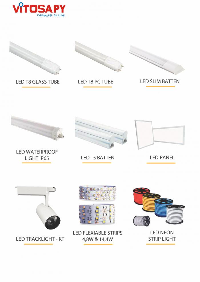 Vitosa Phú Yên Tuyển đại lý phân phối sản phẩm đèn led kanada lighting1